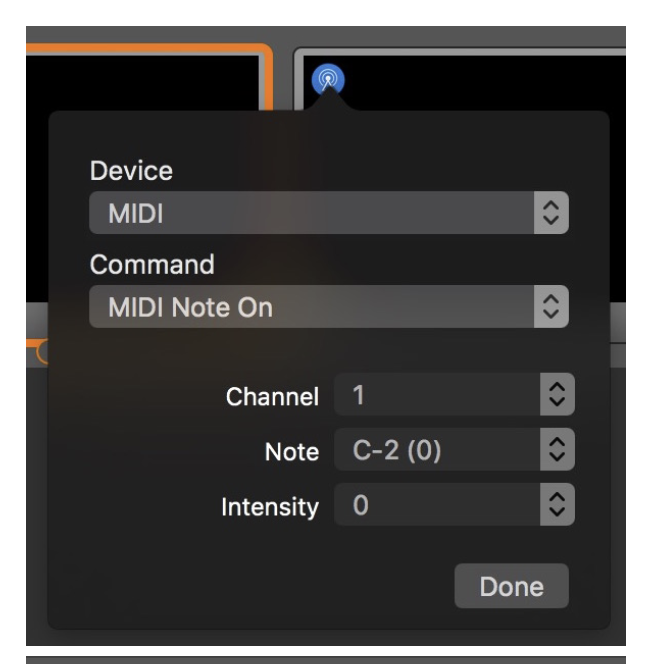 Controlling the stack on SmartFade ML with ProPresenter