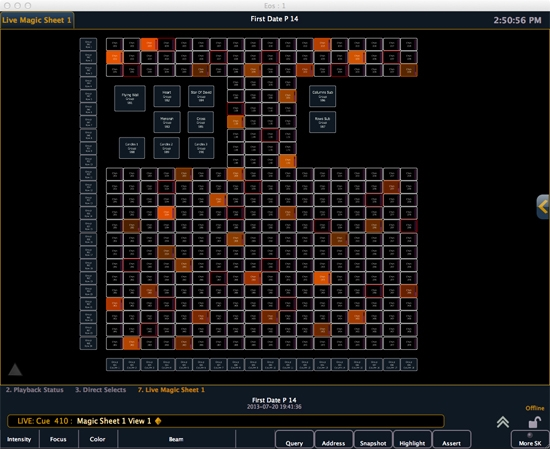 Pixel Mapping Eos